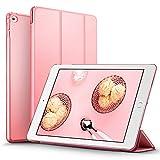 iPad Mini4 ケース クリア ESR iPad Mini4 カバー レザー PU スタンド機能 スリム傷つけ防止 オートスリープ ハード三つ折タイプ iPad Mini4(第四世代)専用スマートカバー(スウィートピンク)