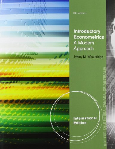 Introductory Econometrics 5e [AISE]の詳細を見る