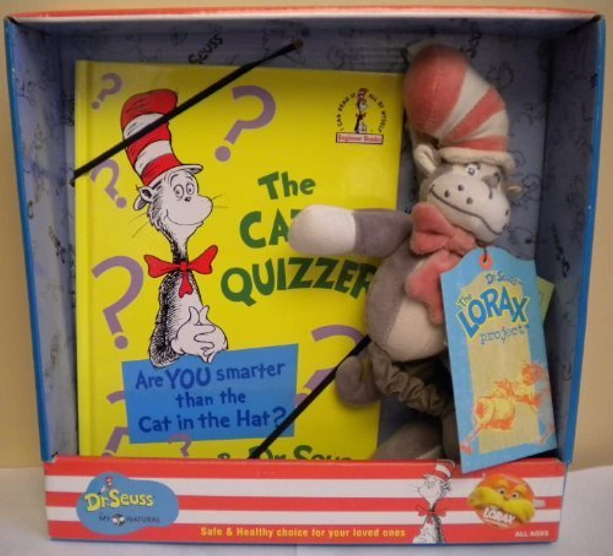 コック付き添い人遠征Dr. Seuss By My Natural Stroller Cat in the Hat Doll and Book by Dr. Seuss