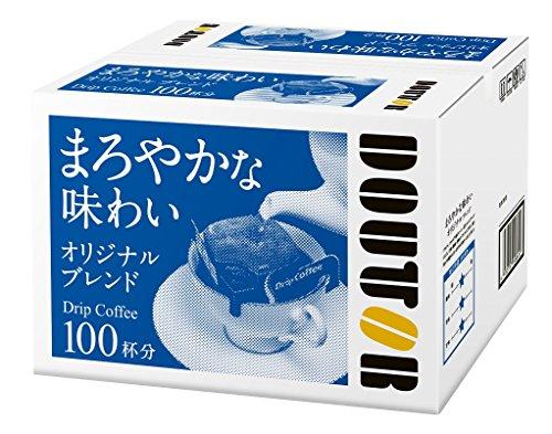 ドトール ドリップコーヒー オリジナルブレンド 粉 (7gx100p) 700g