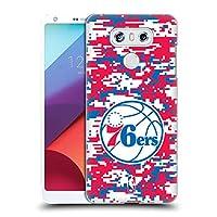 オフィシャルNBA デジタル・カモフラージュ フィラデルフィア・セブンティシクサーズ ハードバックケース LG G6 / G6 Dual