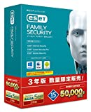 ESET ファミリー セキュリティ | 5台3年版 | パッケージ版 | 国内販売15周年記念 | 50 000本限定 | Win/Mac/Android対応