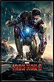『アイアンマン3』 ポスターフレームセット Iron Man 3 (Crouching)(130417)