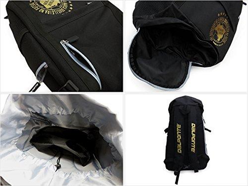 DalPonte(ダウポンチ) 別注バックパック DPZ-YB02 Fサイズ ブラック/ゴールド
