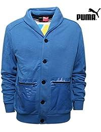 (プーマ)PUMA メンズ Puma×MINI スウェットジャケット ライトブルー S