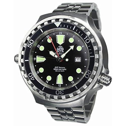 [トーチマイスター1937]Tauchmeister1937 腕時計 ドイツ製 1000M耐水圧 自動巻 24H表示 T0266M(並行輸入品)
