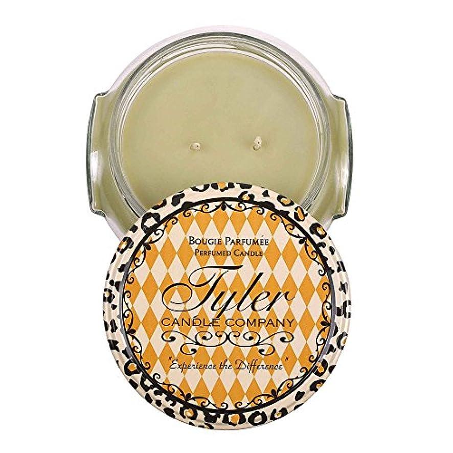 簡略化する本気孤独なAbundance Tyler 22オンス香りつき2-wick Jar Candle