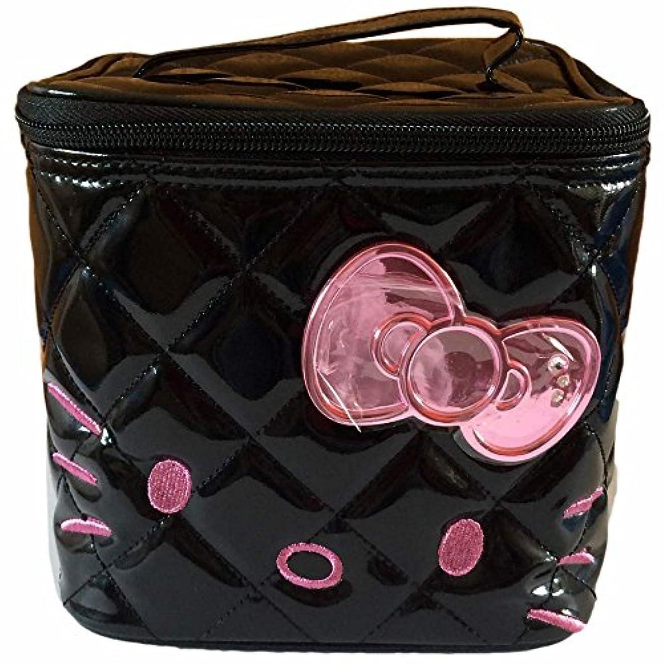 イタリアの不変バドミントンKT85129/SHO-BI/[サンリオ]ハローキティミニバニティ(ピンク)/コスメ/化粧品/BAG/アクセサリー/収納/バッグ/キャラクター/ギフト/プレゼント