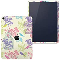 igsticker iPad Pro 11 inch インチ 対応 シール apple アップル アイパッド 専用 A1934 A1979 A1980 A2013 全面スキンシール フル タブレットケース ステッカー 保護シール 009533 フラワー 鳥 カラフル