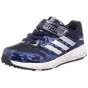 [アディダス] 運動靴 アディダスファイト 17.0cm-25.5cm(現行モデル) ボーイズ カレッジネイビー/シルバーメット/ブルー 22.5 cm