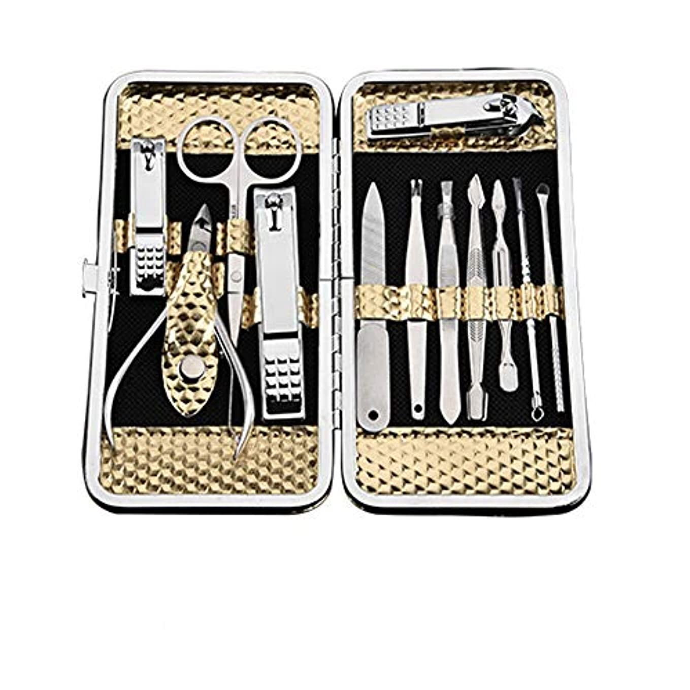 単独で比較障害者12点セット爪切り美容ツールのステンレス鋼の爪切りセット