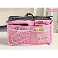 Sungpunet Womens Travel Handbag Nurse Insert Organizer Bag Purse Bag in Bag (pink)