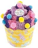 プレーリー 靴下 Candy Factory ルームソックス メガカップケーキ ラズベリー CFC-656