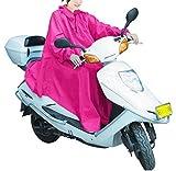 MegRay (メグレイ) レインポンチョ バイク スクーター 原付 レインコート (6.ピンク)