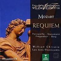 Mozart - Requiem / Panzarella, Stutzmann, Prテゥgardin, Berg, Les Arts Florissants, Christie (1995-10-03)