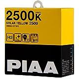 PIAA ( ピア ) ハロゲンバルブ 【ソーラーイエロー 2500K】 H3 12V55W 2個入り HY103
