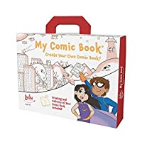 Lulu Jr. My Comic Book Making Kit Multicolor [並行輸入品]