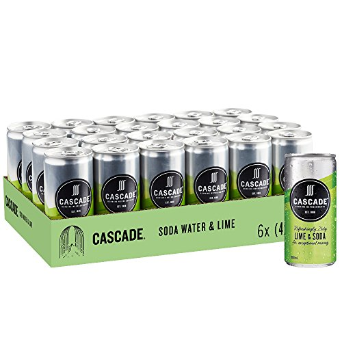 Cascade Lime And Soda Water Multipack Mini Cans 24 x 200 mL