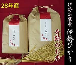 伊勢ひかり ~縁起のいい「奇跡のお米」~ つきたて産地直送/契約栽培米(5kg(精米))