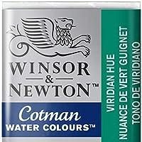 Winsor and Newton Cotman Half Pan Viridian Hue