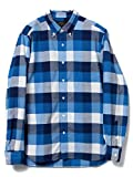 (ビームスプラス) BEAMS PLUS B+BD ST OX CHK 11113999139 M BLUE