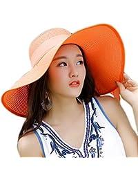 Drawihi HAT レディース US サイズ: Medium カラー: オレンジ
