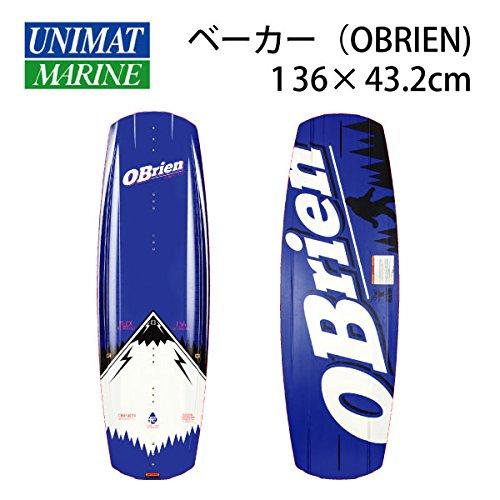 OBRIEN(オブライエン) ウェイクボード BAKER べーカー 136×43.2cm 商品番号:37253
