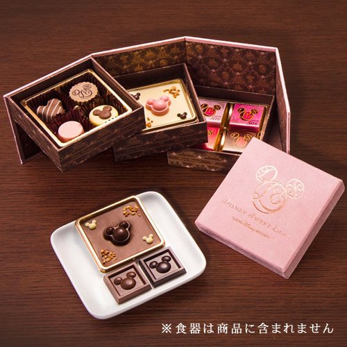 アソーテッド・チョコレート 10種 ミッキーマウス ミニーマ...