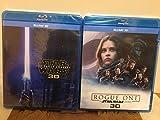 スターウォーズ フォースの覚醒&ローグワン スターウォーズ ストーリー 2点セット 3D Blu-ray ブルーレイ