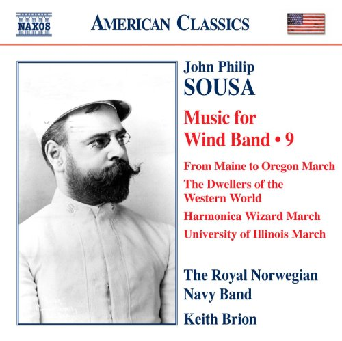 Sousa: Music for Wind Band, Vol. 9