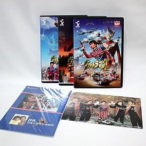 DVD ウルトラマンタロウ 激レアアイテム封入 Vol.11~13メモリアルセット