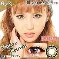 クオーレ Carinaシリーズ【14.5㎜】ヴォーグブラウン【1箱1枚】 (-0.00)