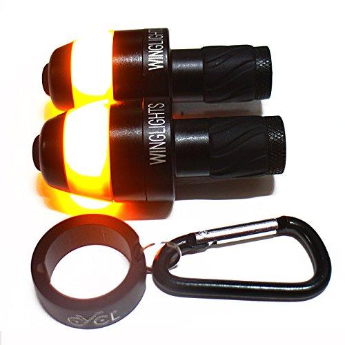 Winglights Mag 自転車用ウィンカー 実用性とデザイン性を兼ね備えたモデル【メーカー正規輸入代理店出品】 (黒)