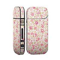 スマコレ IQOS 2.4 Plus 専用 シール 全面 ケース おしゃれ 全面ケース 保護 ステッカー デコ アクセサリー デザイン 花柄 ピンク かわいい 011901