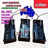 3pcs 2xAA Battery Holder 3V Case Storage Box Arduino Pi 2 x AA 2 x 1.5V 2x1.5V
