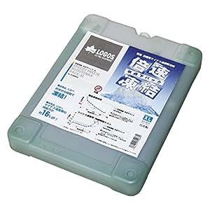 ロゴス(LOGOS) 保冷剤 倍速凍結 長時間保冷 氷点下パックXL 奥行25.5cm  幅19.5cm 高さ3.5 cm