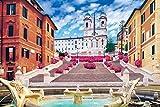 1000ピース ジグソーパズル スペイン広場-イタリア  (50x75cm)