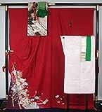 振袖7点セット 振袖・袋帯・長襦袢(化繊)・帯揚げ〆・重ね襟×2本 トール・裄長サイズ  正絹 【中古】