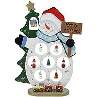 クリスマス オーナメント 木製 卓上 置物 ナチュラル クリスマス雑貨 オブジェ 部屋 クリスマス飾り デコレーション 玄関 ディスプレ かわいい クリスマスツリー サンタクロース スノーマン 3仕様 吊り下げ 人形 クリスマスプレゼント