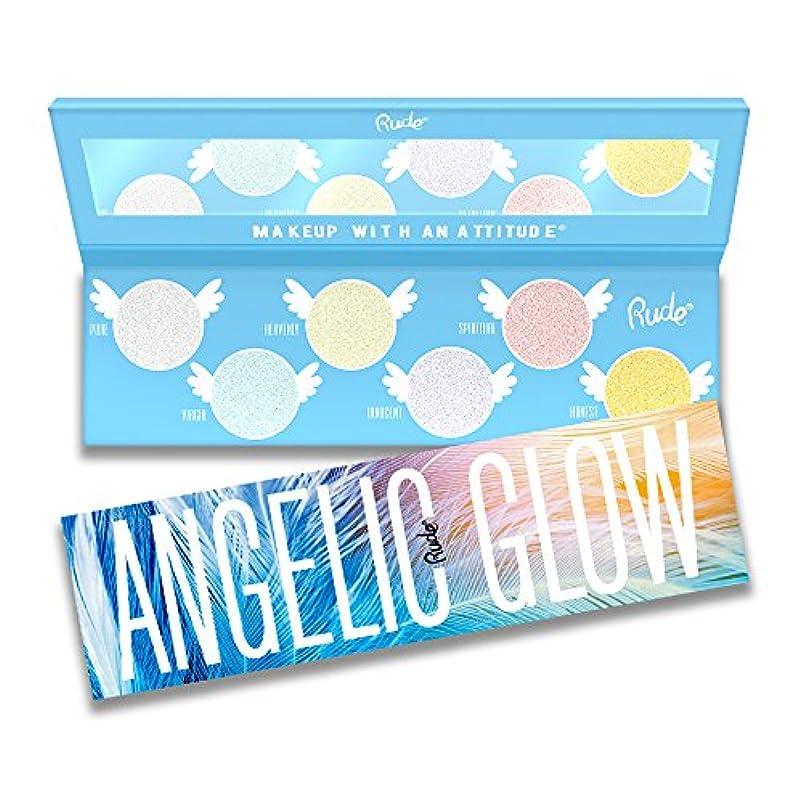 はっきりとと闘う契約したRUDE Angelic Glow Highlighter + Eyeshadow (並行輸入品)