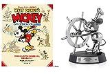 【プライムデー記念発売】ミッキーマウス90周年プレミアムピューターフィギュア付き ウォルト・ディズニー名著復刻 ミッキーマウス ヴィンテージ物語