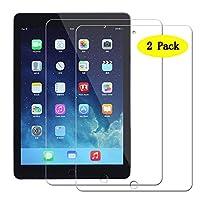 「A-chito」 iPad Pro 10.5 用 【2枚セット】 強化ガラス フィルム 液晶保護フィルム 硬度9H 99% 高透過率 気泡ゼロ 自動吸着 超薄0.33mm 2.5Dラウンドエッジ加工 指紋防止 飛散防止処理 貼り易い (iPad Pro 10.5, 透明)