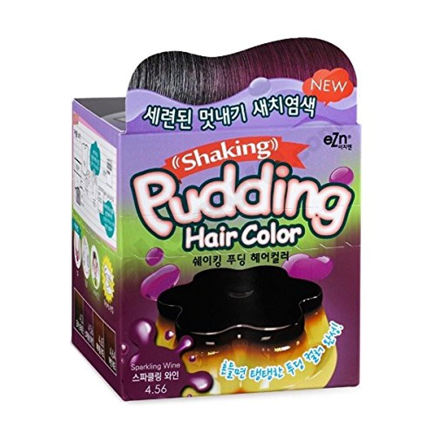 ふりをする不明瞭突破口KOREA NO.1 毛染め(hair dyeing) shaking pudding hair color (sparkling wine) [並行輸入品]