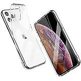 Shamo's ケースiPhone 11 PRO MAX クリアソフト透明カバーTPUバンパー