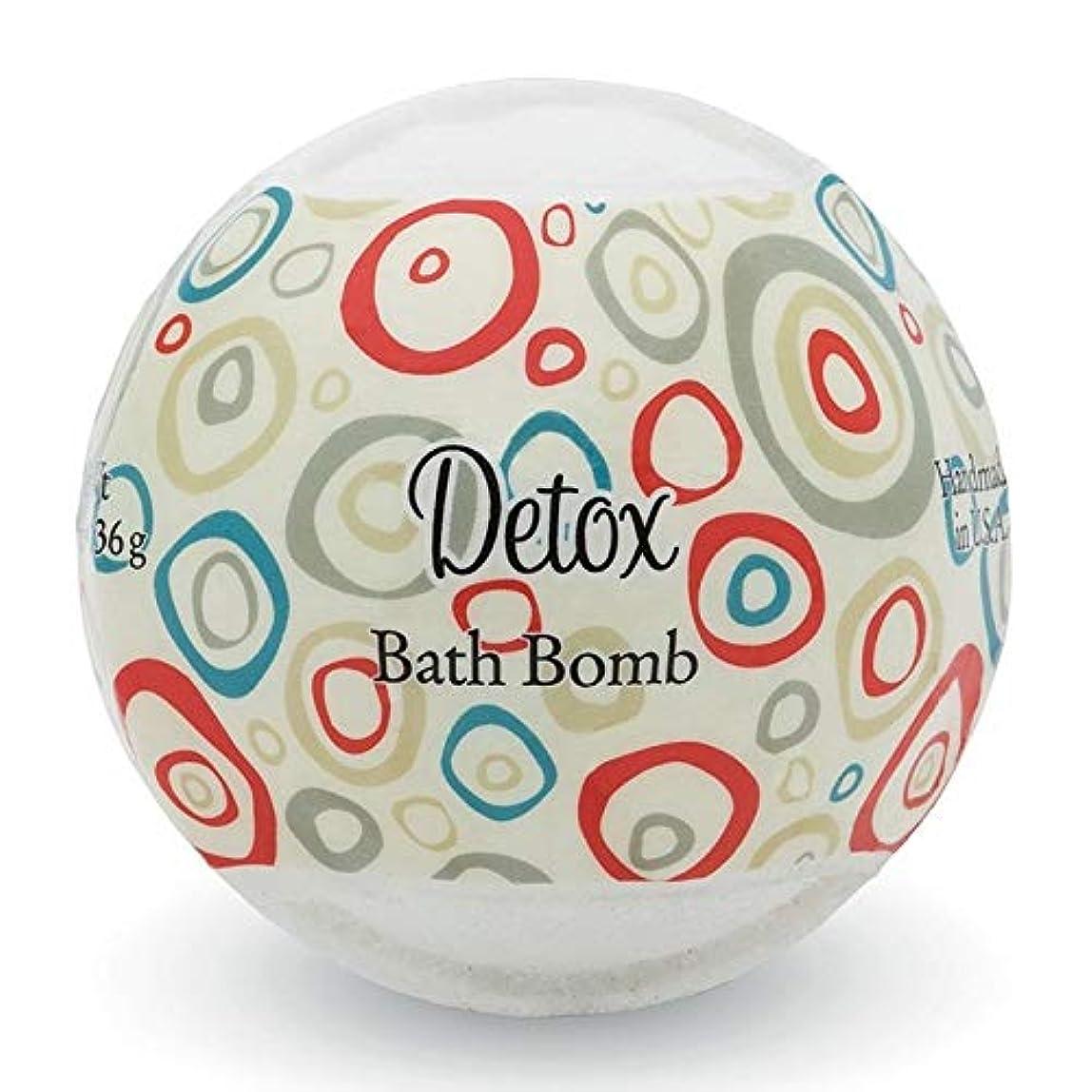 プライモールエレメンツ バスボム/デトックス 136g シアバターとココナツ&アルガンオイル配合のお肌に潤いを与える発泡性入浴剤