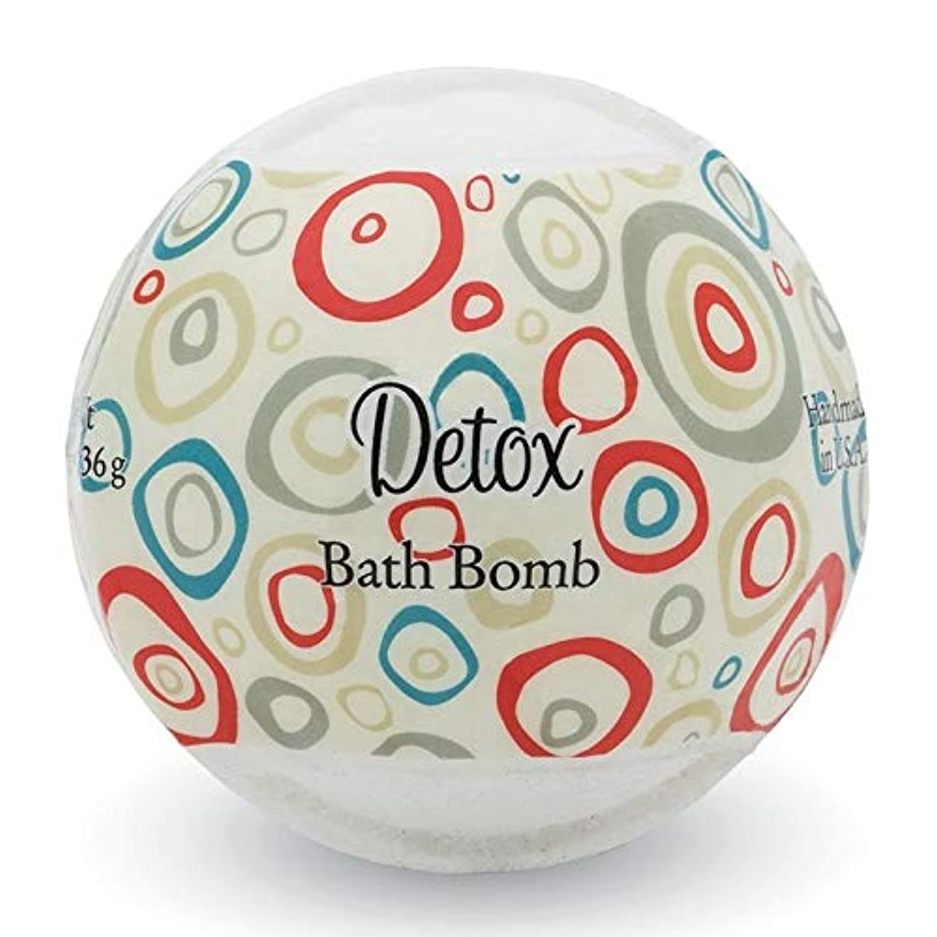 興奮する表現叫び声プライモールエレメンツ バスボム/デトックス 136g シアバターとココナツ&アルガンオイル配合のお肌に潤いを与える発泡性入浴剤