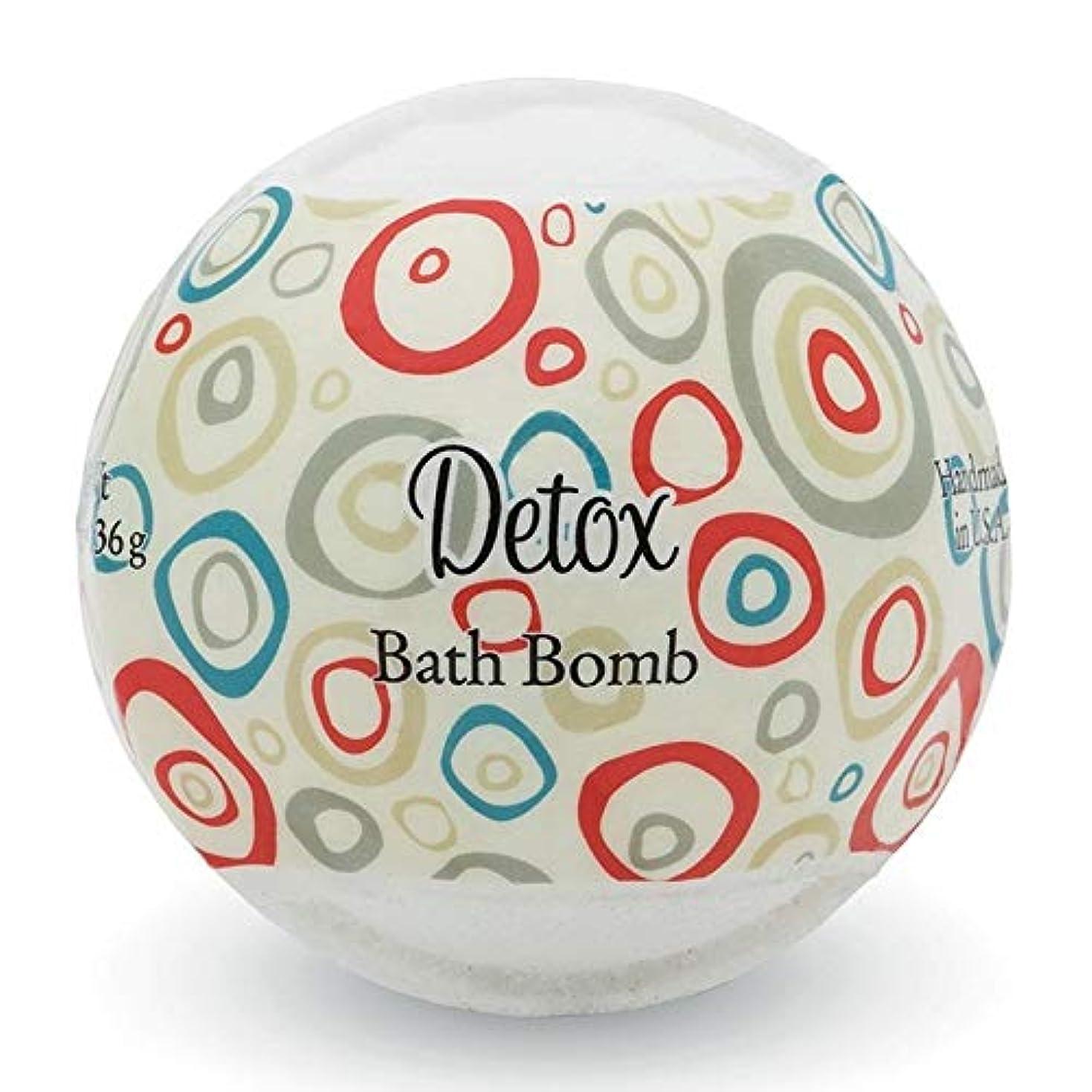 威信定期的喪プライモールエレメンツ バスボム/デトックス 136g シアバターとココナツ&アルガンオイル配合のお肌に潤いを与える発泡性入浴剤