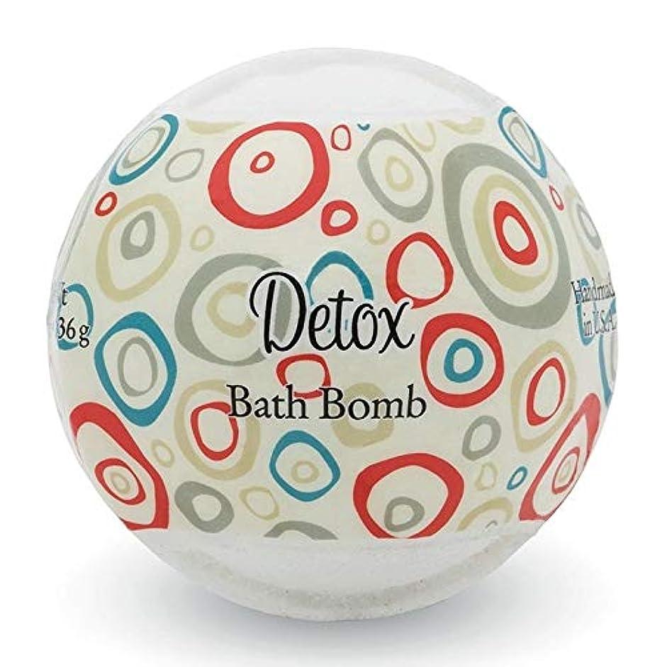 練習した手がかり良心プライモールエレメンツ バスボム/デトックス 136g シアバターとココナツ&アルガンオイル配合のお肌に潤いを与える発泡性入浴剤