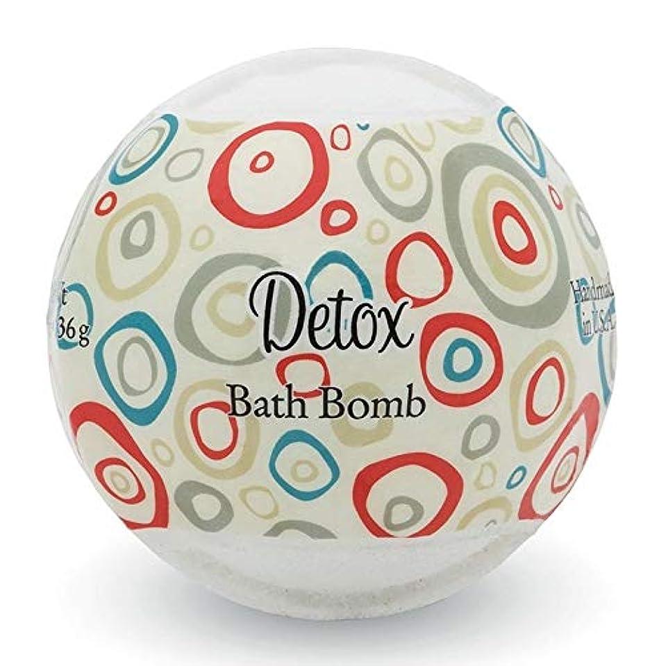 凍結ボルト側プライモールエレメンツ バスボム/デトックス 136g シアバターとココナツ&アルガンオイル配合のお肌に潤いを与える発泡性入浴剤