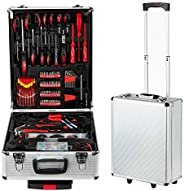 CLOUMOCY 799PCS Tool box, Mechanical Tool kit General Household Hand Tool Sets Trolley Case, Portable House Re